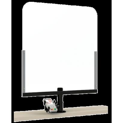 Kit Protección Plexiglás con Soporte PINPAD