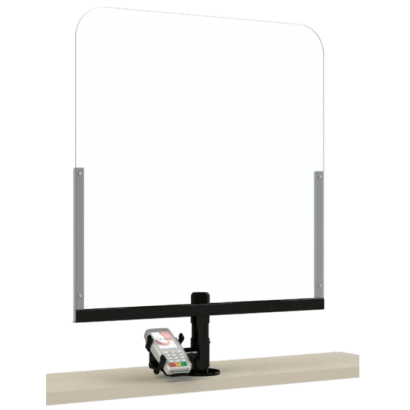 Plexiglass protection kit with PINPAD stand