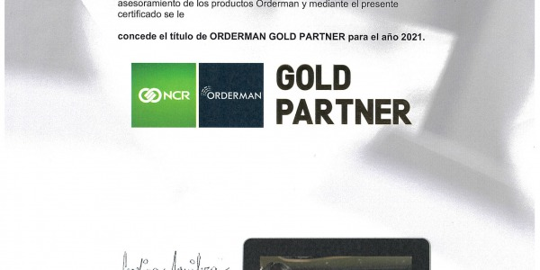Orderman Gold Partner 2019